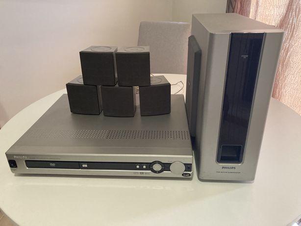 Sistema de cinema surround Philips 5.1