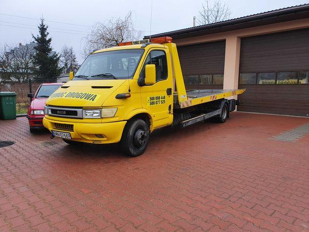 Iveco Daily 65c15 Pomoc Drogowa Szumar Najazd Hydrauliczny