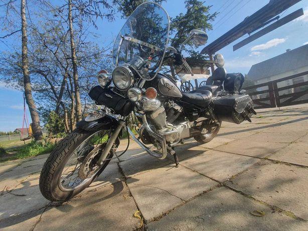 Yamaha Virago 250/125 kat B 18 tkm rarytas
