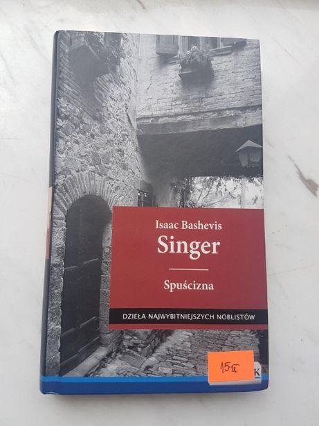 "Książka ""Spuścizna"" Isaac Bashevis Singer"