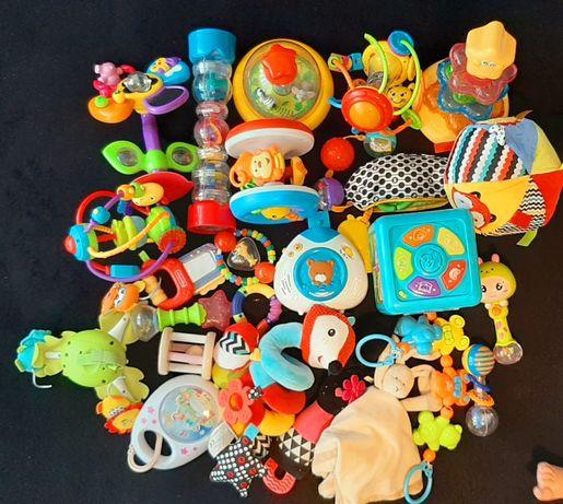 Zabawki fisher price, tiny love, smiki, vtech