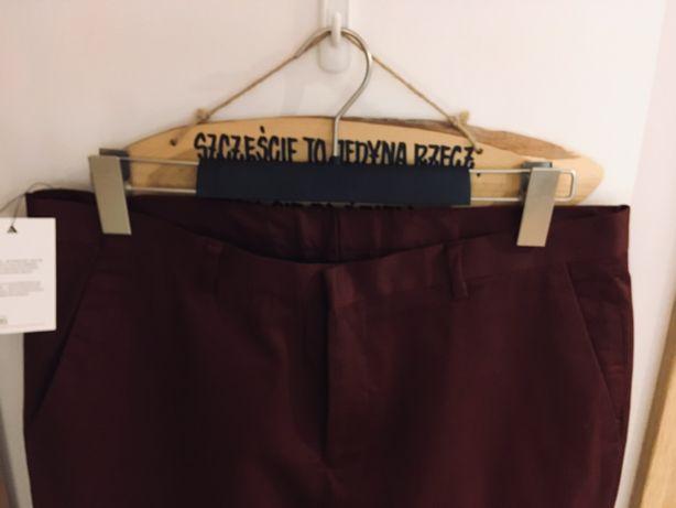 Nowe spodnie materiałowe męskie ASOS slim W33L34