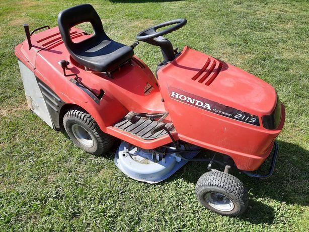 Kosiarka Honda 2113 13KM hydro traktorek z koszem ,kosisko