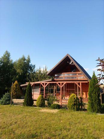 Działka z domkiem nad jeziorem Lubienieckim