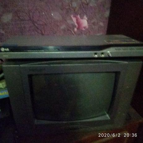 Телевізор+Dvd