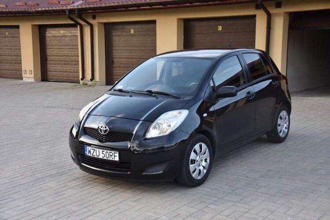 Toyota Yaris 1,3 benzyna 101 KM/ klima/5 drzwi, auto prywatne