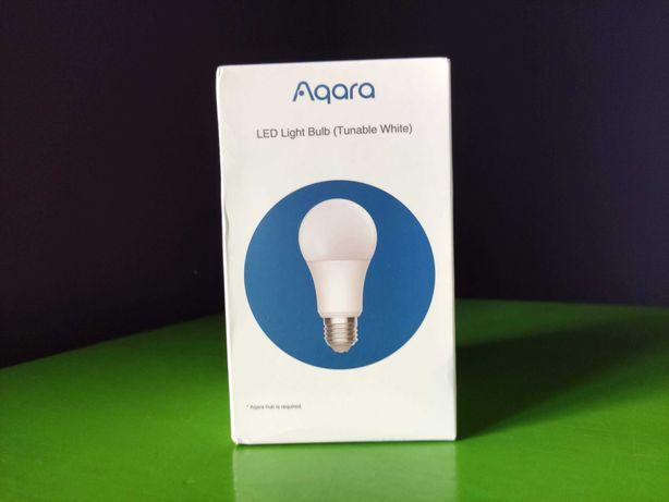 Умная Светодиодная лампа Xiaomi Aqara 9 Вт E27, 2700K-6500K белый свет