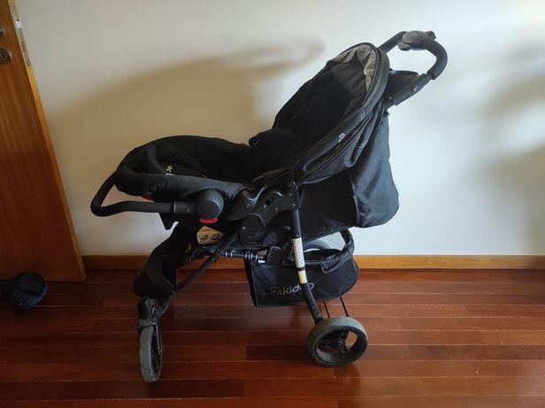 Carrinho + Bebé confort