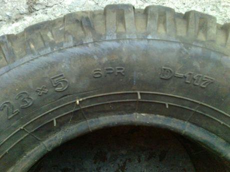 Opona do bizona kabajna wózka chederu 23x5