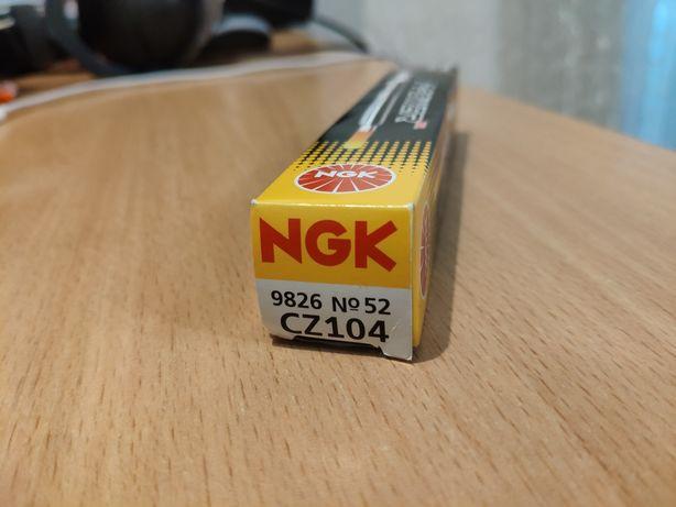 Свеча накала керамическая NGK 9826 numb.52 CZ104
