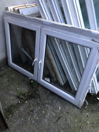 Okno PCV dwuskrzydłowe 100 wys. 165 szer.