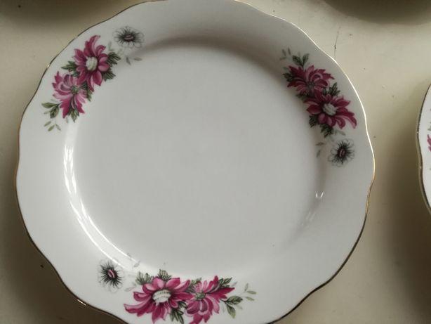 Porcelana chińska PRL- talerze deserowe  6 szt