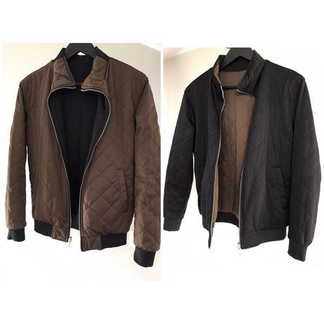 Куртка двостороння, бомбер Zara, розмір S