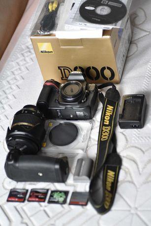 Nikon D300 - zestaw stan perfekcyjny 11k przebiegu