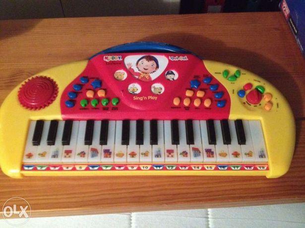 Piano de música do Noddy