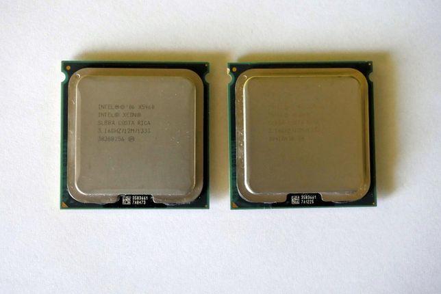 2x Procesor Intel Xeon X5460 4x3,16GHz 12MB SLBBA LGA771 stan BDB