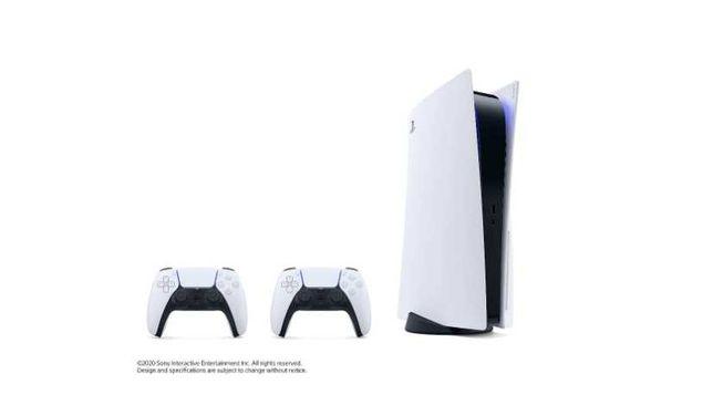 Konsola Playstation 5 napęd Bluray 2 kontrolery