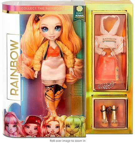 Кукла Рейнбоу Хай Поппи Роуэн Оранжевая Rainbow Surprise Rainbow High