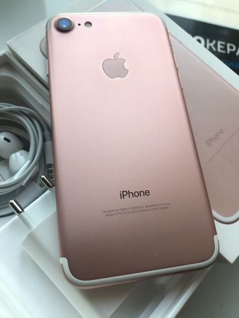 iPhone 7 128GB Rose Gold Neverlock