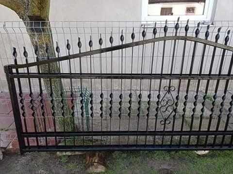 Brama przesuwna wjazdowa długość 5, 27 m
