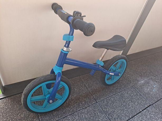 Rower biegowy niebieski