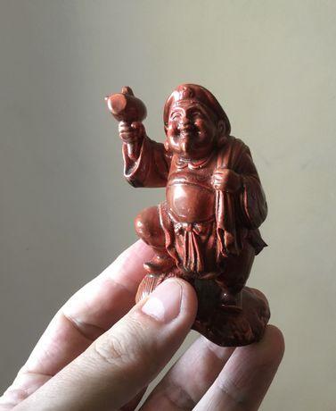 Окимоно Дайкоку - бог счастья -гипсовая фигурка в стиле нецке нэцкэ