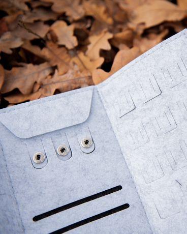 Фетровый органайзер шкатулка для украшений/ Подарок на новый год