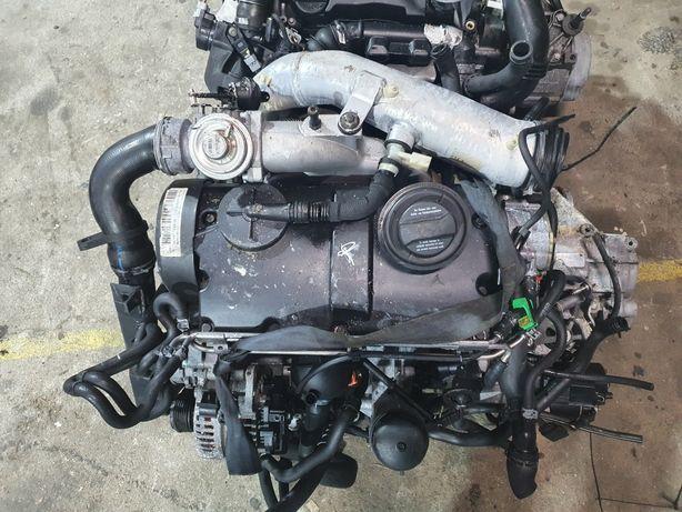 Motor vw golf/seat ibiza/seat leon/audi a3 1.9tdi 130cv asz