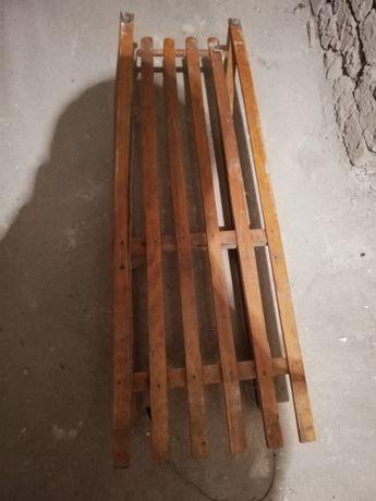 Sanki-drewniane.