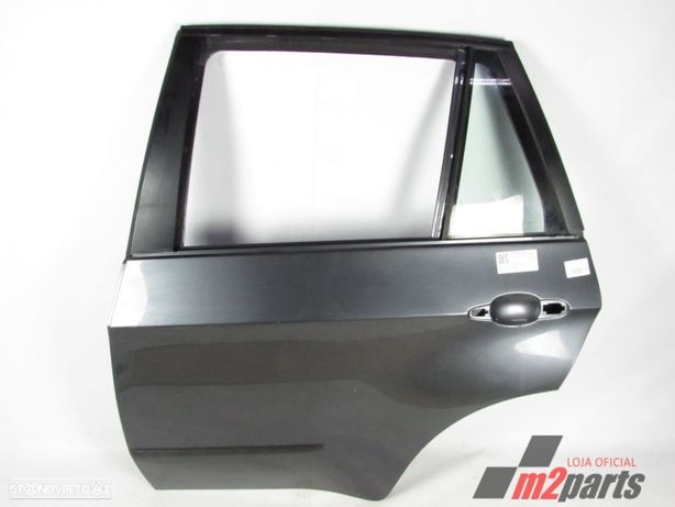 Porta Cinza Prata Esquerdo/Trás BMW X5 (E70) Semi-Novo