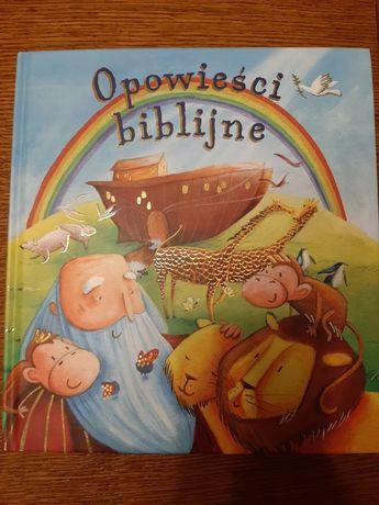 Opowieści biblijne wyd.Wilga biblia dla dzieci stan idealny na prezent