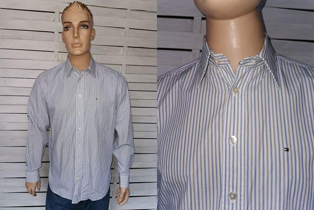 Tommy Hilfiger Denim koszula kratka męska ORYGINAŁ M/L