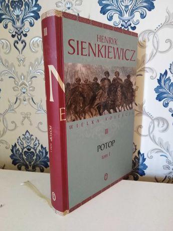 Książka Potop cz. 1 H. Sienkiewicz