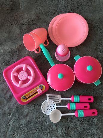 Игрушечный набор детской  посуды