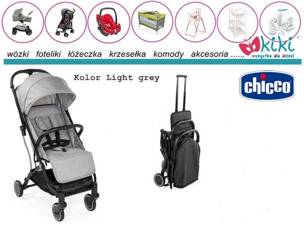 Chicco wózek spacerowy Trolley Me Light Grey walizka
