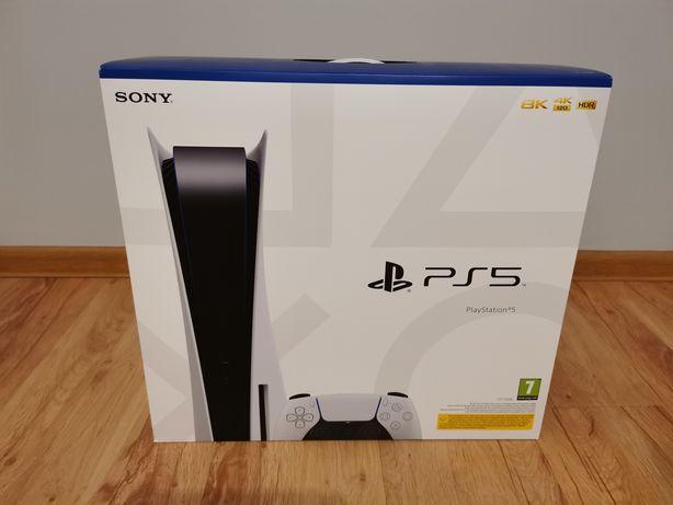 Konsola PS5 wersja z napędem