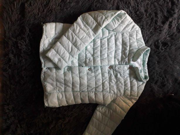 Miętowa kurtka