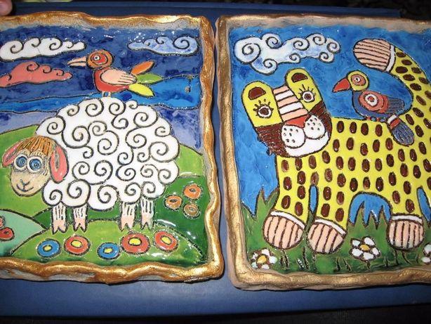 детские керамические картины