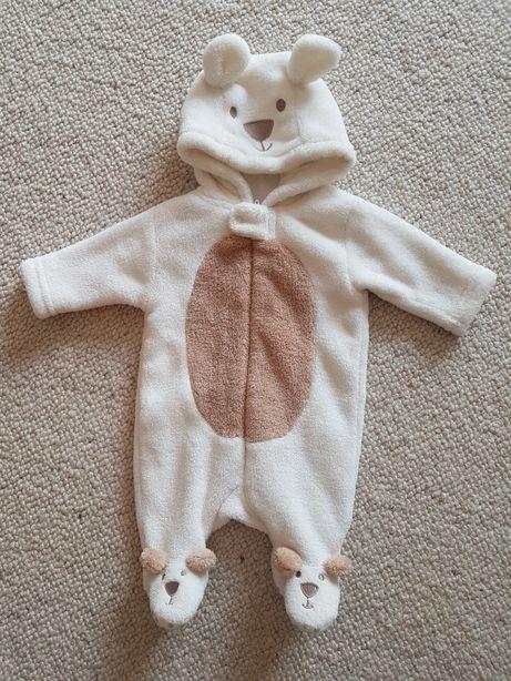 Kombinezon niemowlęcy, pajacyk kurtka, 56 cm - 62 cm