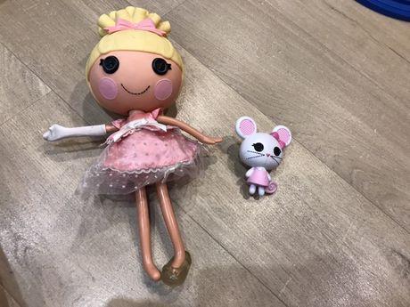 HIT mysza + LALALOOPSY Prezent Lalka Cinder Lalki guziki Kapciuszek