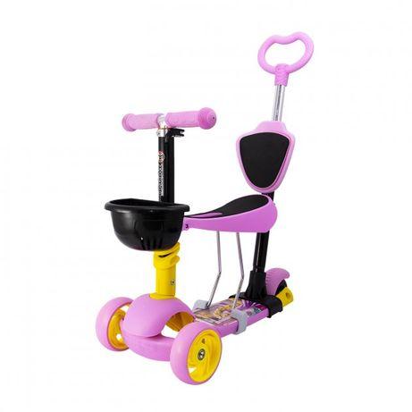 Самокат детский Maraton 3D Swift 5 in 1 Розовый