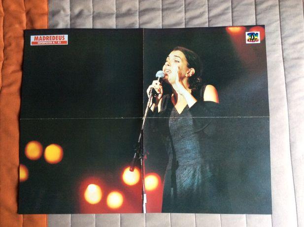 Poster Cartaz Madredeus Teresa Salgueiro TV Guia