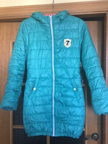 Куртка зимняя на девочку подростка р.42