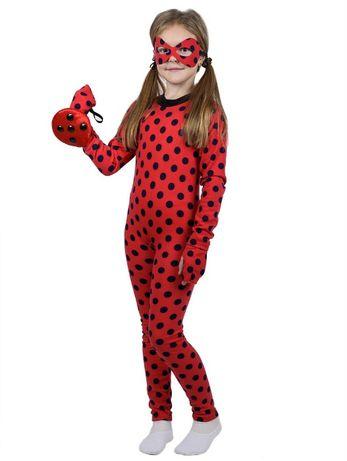 Детский карнавальный новогодний костюм Леди Баг 3,4,5,6,7,8 лет