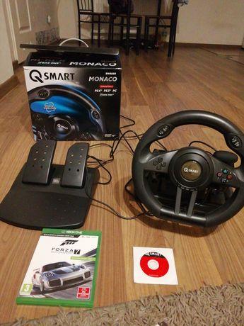 Kierownica q smart Monaco SW2020 i gra Forza Motorsport 7