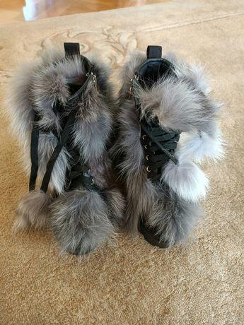 Buty śniegowce na suwak
