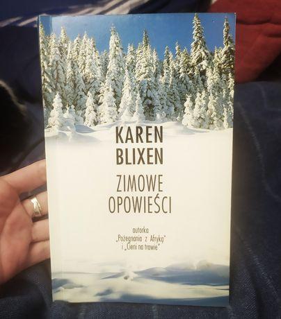 Karen Blixen ZIMOWE OPOWIEŚCI książka stan idealny