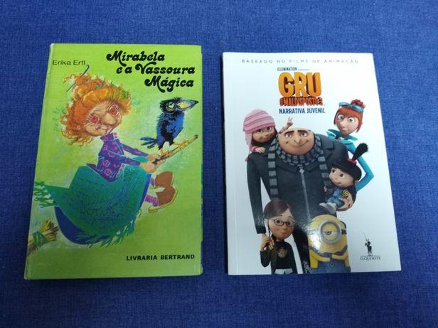 Livros juvenis vários. Lote, 20€.