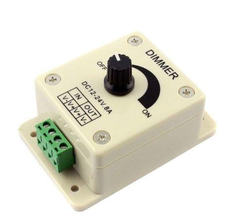 Диммер (Регулятор Напряжения) 12в 8А для светодиодной led ленты