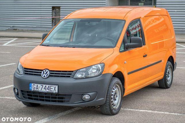 Volkswagen CADDY  MAXI * faktura VAT 23% * hak * niski przebieg * BEZWYPADKOWY